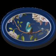 Sm Oval Tray_Birds